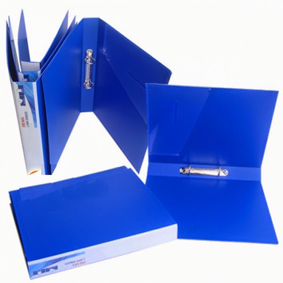 Bìa còng 3.5 F xanh kiếng A