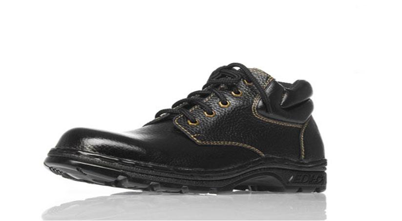 Giày da BHLĐ thấp sần chống đinh DH TS-CD