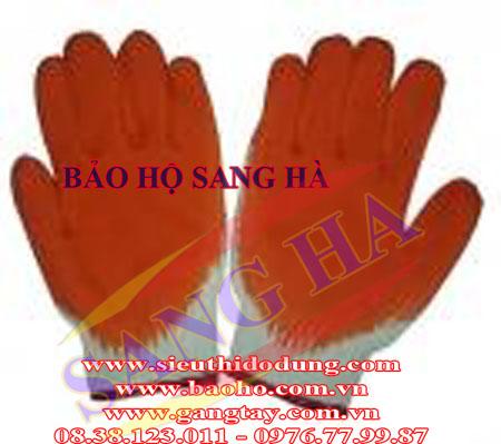 Găng tay chống nóng tráng nhựa GTC-09/21