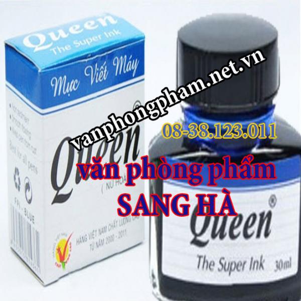 Mực bút lông bảng Queen đen