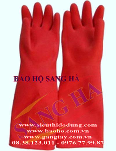 Găng tay cao su dài dày GB 05