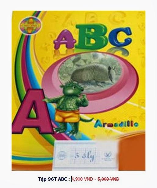 Tập 100 trang Hòa Bình ( ABC)