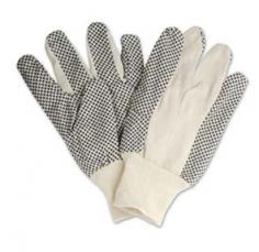 Găng tay len phủ hạt nhựa lòng bàn tay 80G