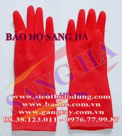 Găng tay cao su 04