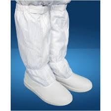 Giày ống cao chống tĩnh điện PVC
