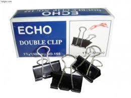 Kẹp bướm Double Clip 32mm (hộp 12 cái)