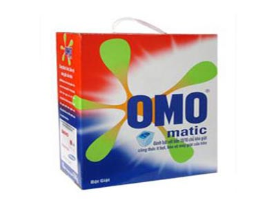 Bột Giặt OMO matic cho máy cửa trước 3kg