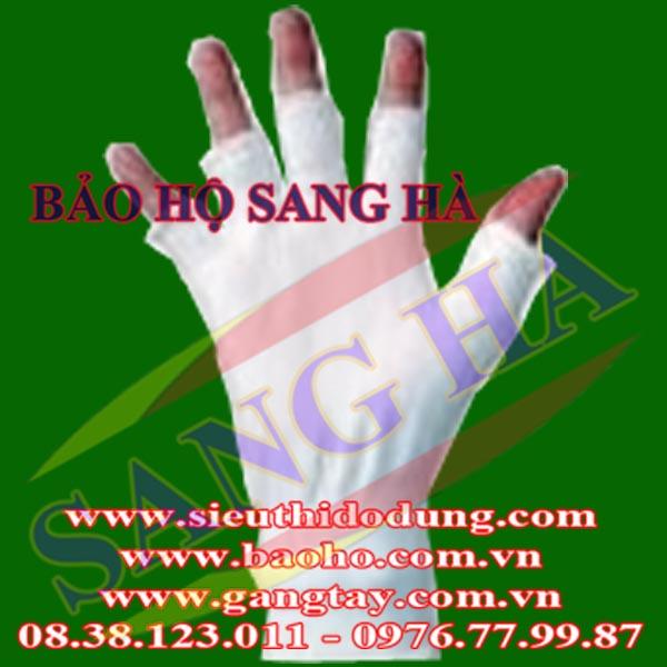 Găng tay vải cắt đầu ngón