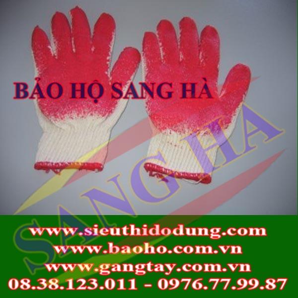Găng tay cao su phủ lòng bàn tay