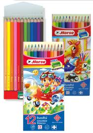 Bút chì màu H-2080 12P long