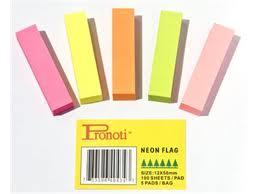 Giấy note 5 màu (giấy ghi chú)