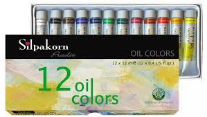 Màu Shilpakorn dầu Oil Color