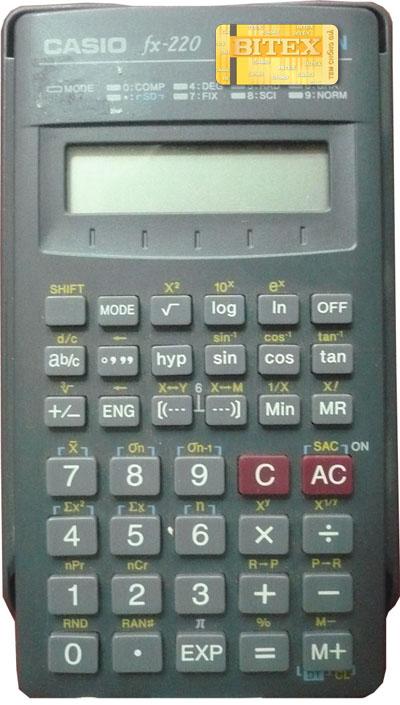 CASIO FX-220