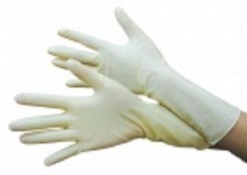 Găng tay chế biến mỏng màu trắng ngắn YT07