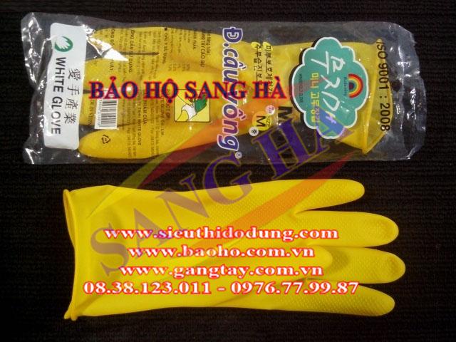Găng tay cao su mini Cầu Vồng GCC05