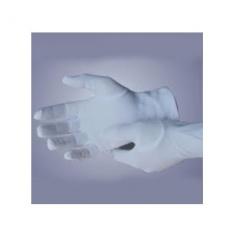 Găng tay vải thun trắng L