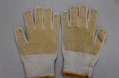 Găng tay len phủ nhựa lòng bàn tay HS - 80G