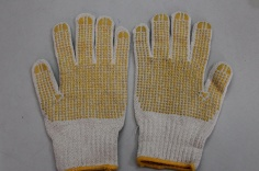 Găng tay len phủ nhựa lòng bàn tay HS - 70G