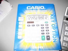 Máy Tính Casio DS 98 V