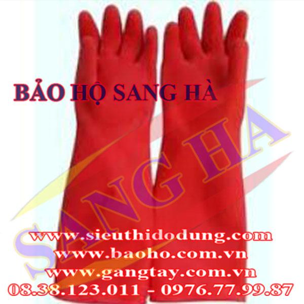 Găng tay cao su combi White Glove GCVC03