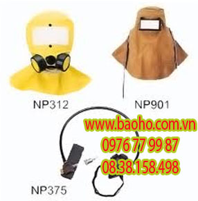 Mặt nạ trùm đầu hóa chất NP-312