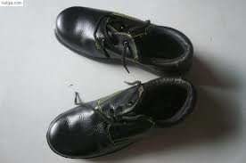 Giày da mũi sắt thấp cổ ABC