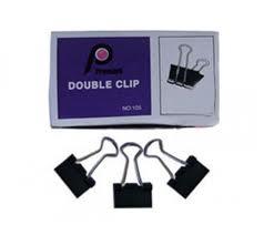 Kẹp bướm Double Clip 15mm (hộp 12 cái)