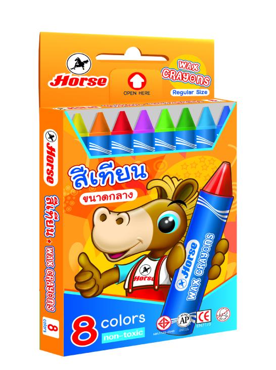 Chì sáp 8 medium crayon