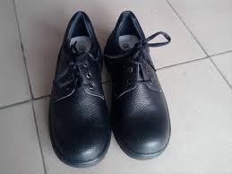 Giày da bò mũi sắt thấp cổ ABC-001
