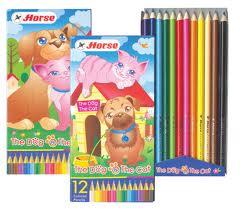 Bút chì màu Dog&Cat 12