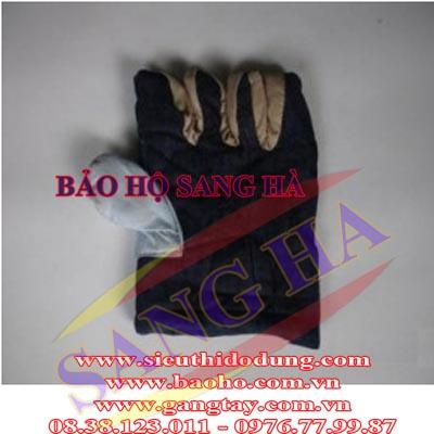 Găng tay vải mập chống nóng TC mỏng GTM