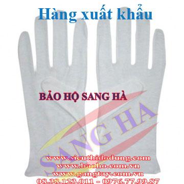 Găng tay thun lạnh ráp kẻ loại tốt - xuất khẩu