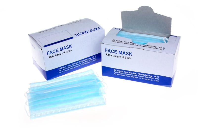 Khẩu trang y tế xanh FACE MASK YT-01