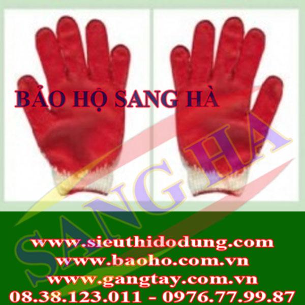 Găng tay len nhúng nhựa G528