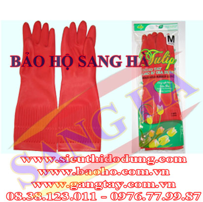 Găng tay cao su Korea