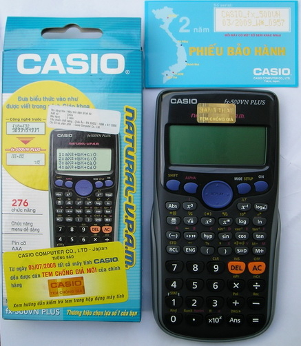 Casio FX500 VN PLUS