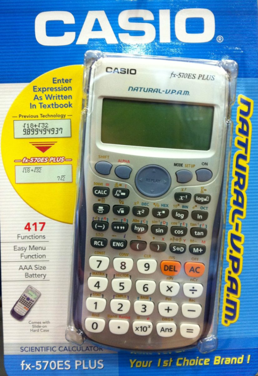 Casio FX570 ES PLUS
