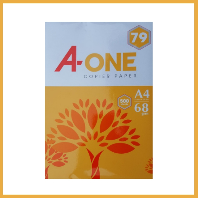 Giấy A-One A4 68gsm