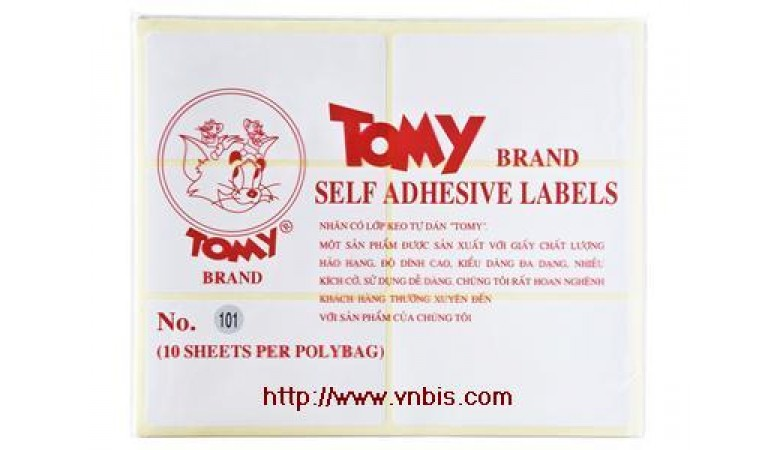 Giấy Decal Tomy 102