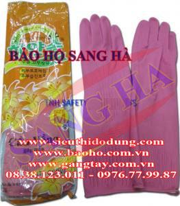 Găng tay Cao su Trung Cầu Vồng