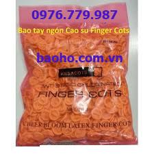 Bao ngón tay cao su chống tĩnh điện SML-03