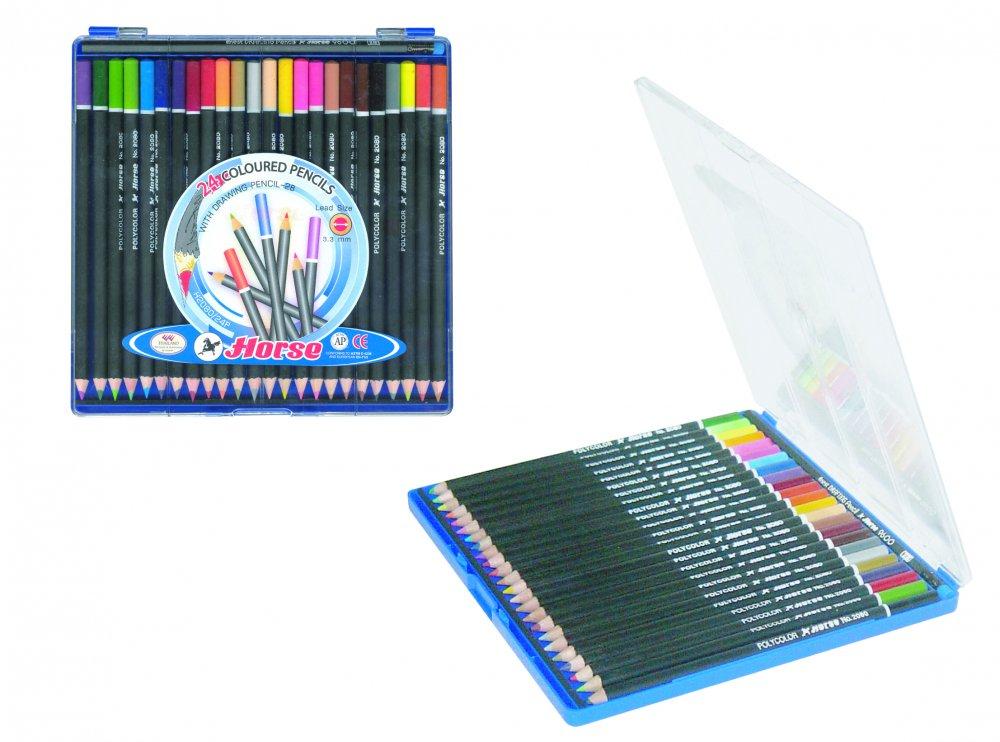 Bút chì màu H-24 color pencils