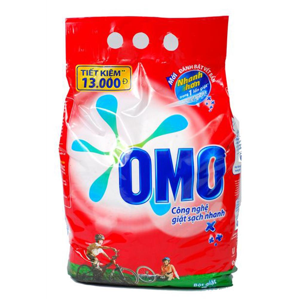 Bột Giặt OMO sạch nhanh hơn