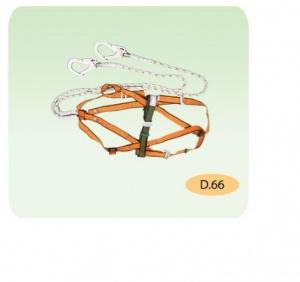 Dây an toán choàng toàn thân 2 móc lớn D.66