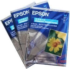 Giấy in ảnh Epson A4 hoa cúc