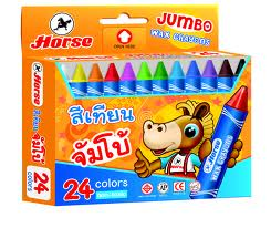 Chì sáp 24 jumbo crayon