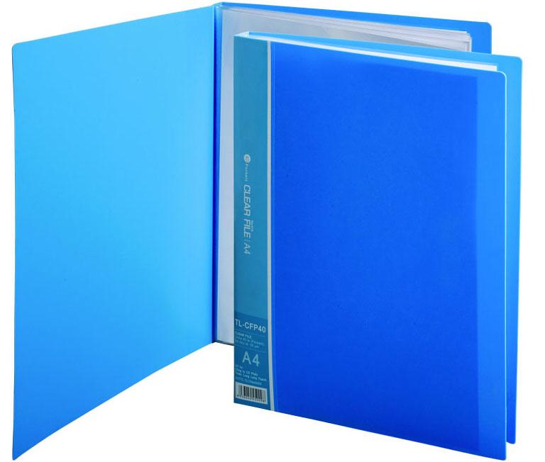 Bìa nhựa 10 lá Thiên Long