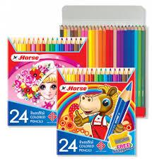Bút chì màu H-2080 24P long