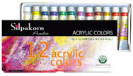 Màu Shilpakorn Acrylic color