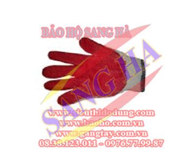 Găng tay len phủ nhựa SANG HÀ